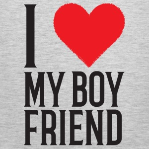 I Love My Boyfriend - Men's Premium Tank