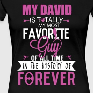 MY DAVID - MY GUY - Women's Premium T-Shirt