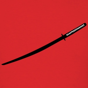 Japanese Katana Sword T-Shirts - Men's T-Shirt