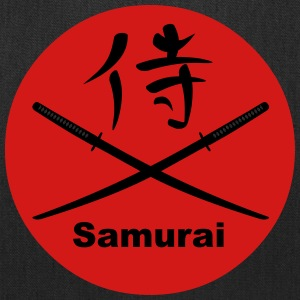 Japanese Katana and Kanji for Samurai Bags & backpacks - Tote Bag