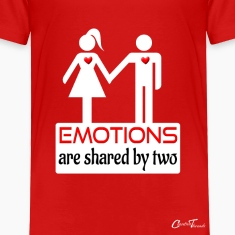 couples-emotions-wht Baby & Toddler Shirts