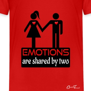 couples-emotions-blk Kids' Shirts - Kids' Premium T-Shirt