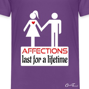 couples-affection-wht Baby & Toddler Shirts - Toddler Premium T-Shirt