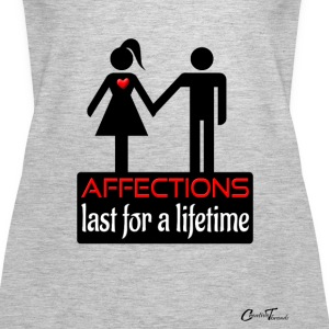 couples-affection-blk Tanks - Women's Premium Tank Top