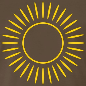 Sun with rays Shirt - Men's Premium T-Shirt