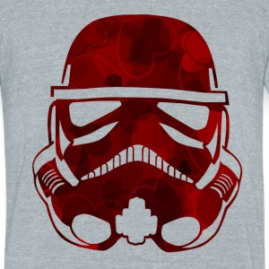 Valentine Trooper SHIRT MAN - Unisex Tri-Blend T-Shirt
