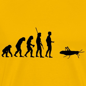 Evolution grasshopper Shirt - Men's Premium T-Shirt