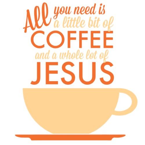 Coffee & Jesus Orange