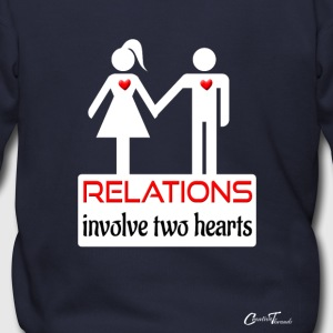 couples-relations-wht Zip Hoodies & Jackets - Men's Zip Hoodie