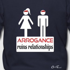 couples-arrogance-wht Zip Hoodies & Jackets - Men's Zip Hoodie
