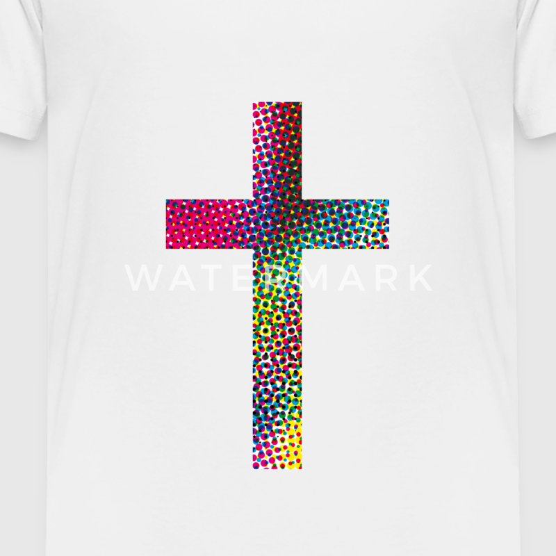 Colourful cross Baby & Toddler Shirts - Toddler Premium T-Shirt