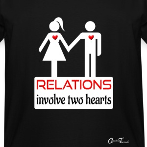 couples-relations-wht T-Shirts - Men's Tall T-Shirt