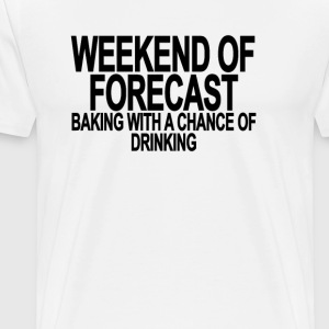 weekend_of_forecast_baking_with_a_chance - Men's Premium T-Shirt