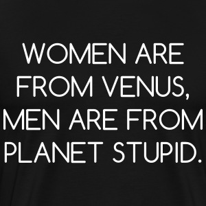 Women Are From Venus - Men's Premium T-Shirt