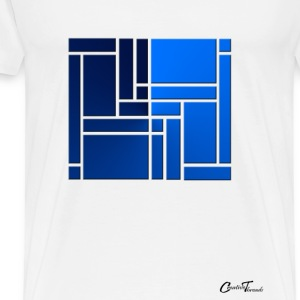 maze-blue T-Shirts - Men's Premium T-Shirt