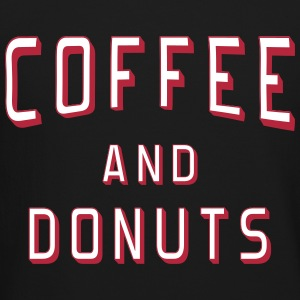 Coffee and Donuts Long Sleeve Shirts - Crewneck Sweatshirt