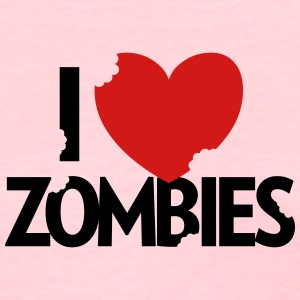 I Heart Zombies! - Women's T-Shirt