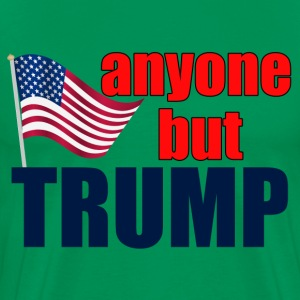 Anyone But Trump - Men's Premium T-Shirt