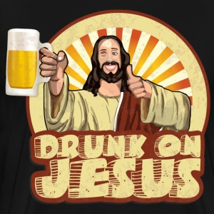 Drunk On Jesus - Men's Premium T-Shirt