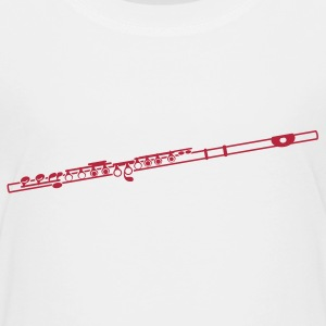 The Flute Baby & Toddler Shirts - Toddler Premium T-Shirt