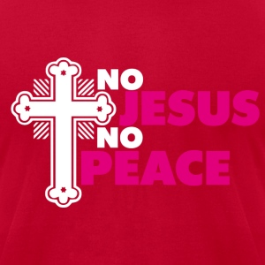 Jesus peace T-Shirts - Men's T-Shirt by American Apparel