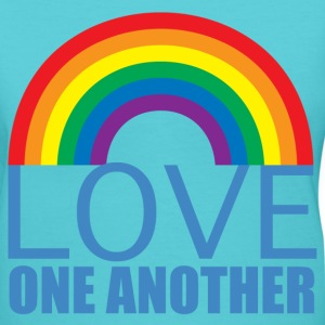 Love One Another - Women's V-Neck T-Shirt