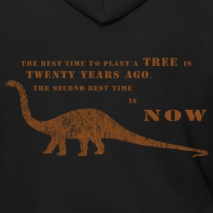 The Tree Dianasaur Zip Hoodies & Jackets - Men's Zip Hoodie