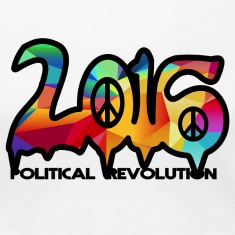 2016 political revolution abstract design Women's T-Shirts