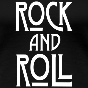 Rock and Roll Women's T-Shirts - Women's Premium T-Shirt