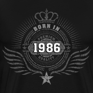 born_in_1986 T-Shirts - Men's Premium T-Shirt