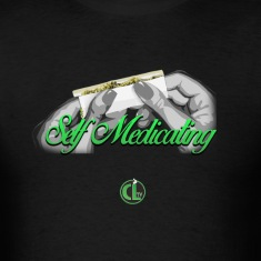 Self Medicating - Cannabis Lifestyle  T-Shirts