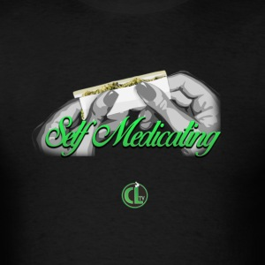 Self Medicating - Cannabis Lifestyle  T-Shirts - Men's T-Shirt