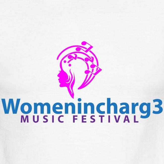 Men Womenincharg3 Music Festival t-shirt