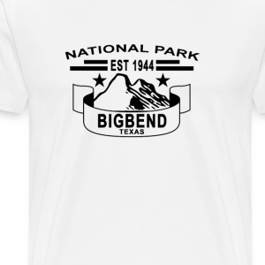 national_park_big_bend_texas - Men's Premium T-Shirt