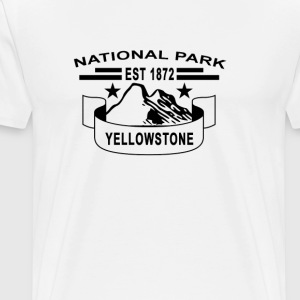 national_park_yellowstone - Men's Premium T-Shirt