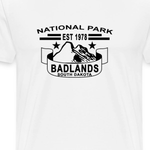national_park_south_dakota_badlands - Men's Premium T-Shirt