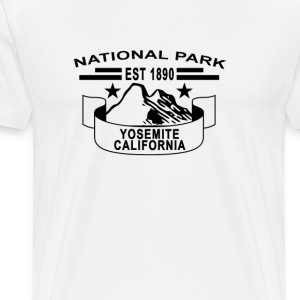 national_park_yosemite_california - Men's Premium T-Shirt