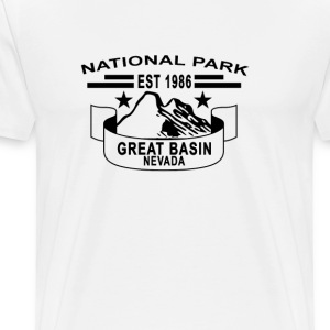 national_park_great_basin_nevada - Men's Premium T-Shirt