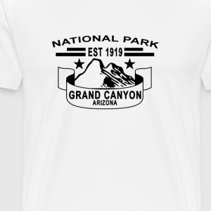 national_park_grand_canyon_arizona - Men's Premium T-Shirt