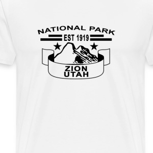 national_park_zion_utah - Men's Premium T-Shirt