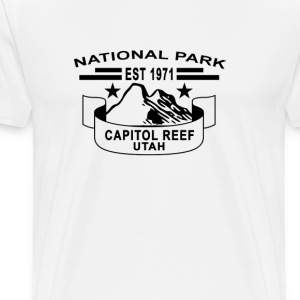 national_park_capitol_reef_utah - Men's Premium T-Shirt