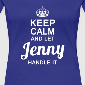 Jenny handle it! - Women's Premium T-Shirt