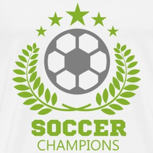 football soccer color image 106 - Men's Premium T-Shirt