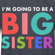 I'm Going To Be a Big Sis Kids' Shirts