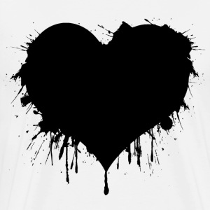 Black Heart T-Shirts - Men's Premium T-Shirt