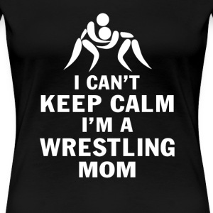 Wrestling Mom - Women's Premium T-Shirt