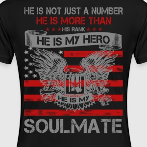 He is my Hero- Soulmate - Women's Premium T-Shirt