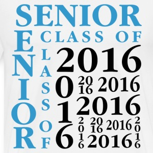 Senior Class Of 2016 T-Shirts - Men's Premium T-Shirt