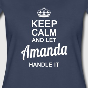 Amanda handle it ! - Women's Premium T-Shirt