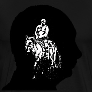 Putin is a one horse country - Men's Premium T-Shirt